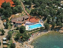 camping aan zee Istrië